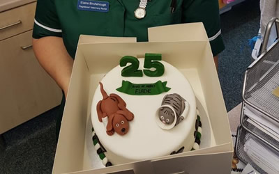 Well done to our amazing head nurse Elaine!