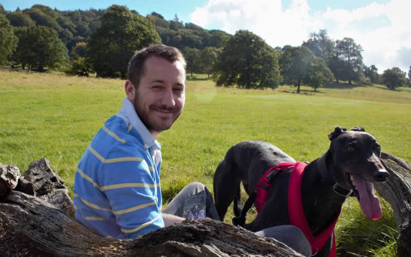 Vet Nick and his dog from Abbey Vets